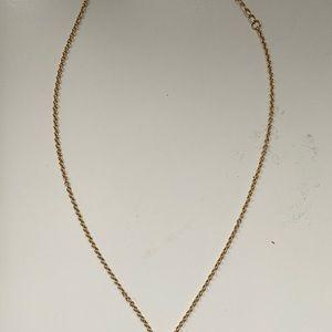 kate spade Jewelry - Kate Spade gold wish bone necklace